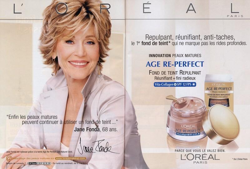 Jane Fonda bien-vieillir